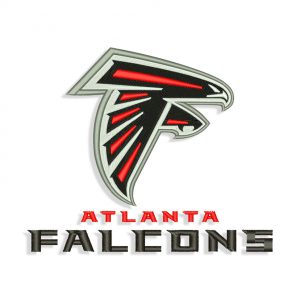 Atlanta Falcons embroidery