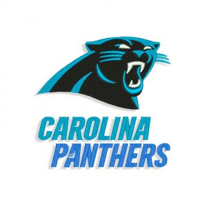 Carolina Panthers embroidery