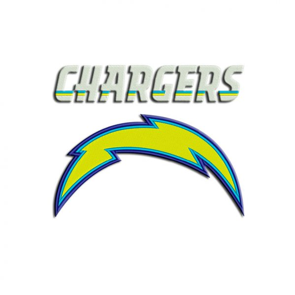 Chargers embroidery