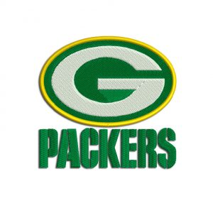 Packers embroidery