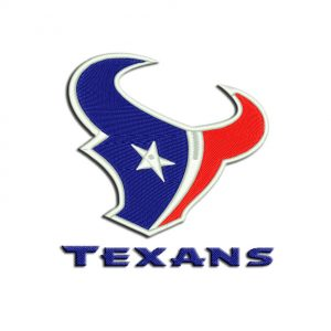 Texans Embroidery