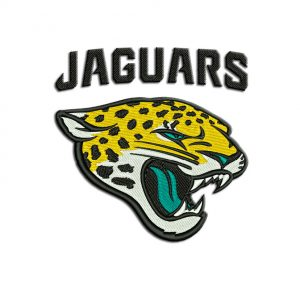 Jaguars embroidery