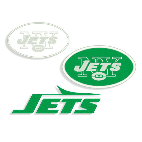 Jets embroidery