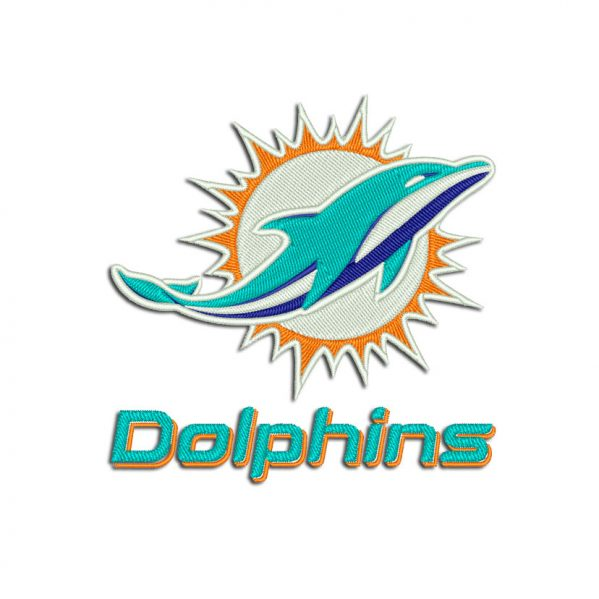 Dolphins Embroidery