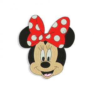 Minnie Mouse Embroidery
