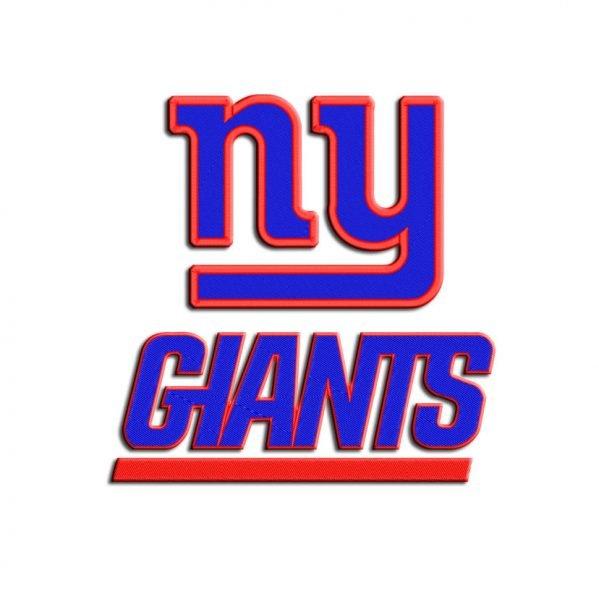 Giants embroidery