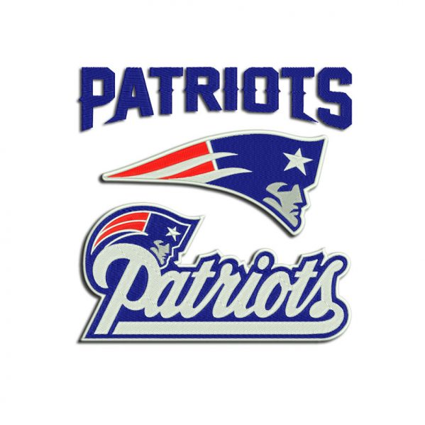 Patriots embroidery
