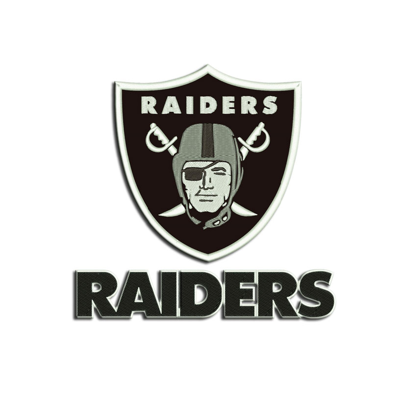 Oakland Raiders Embroidery Design Machine Embroidery Designs And
