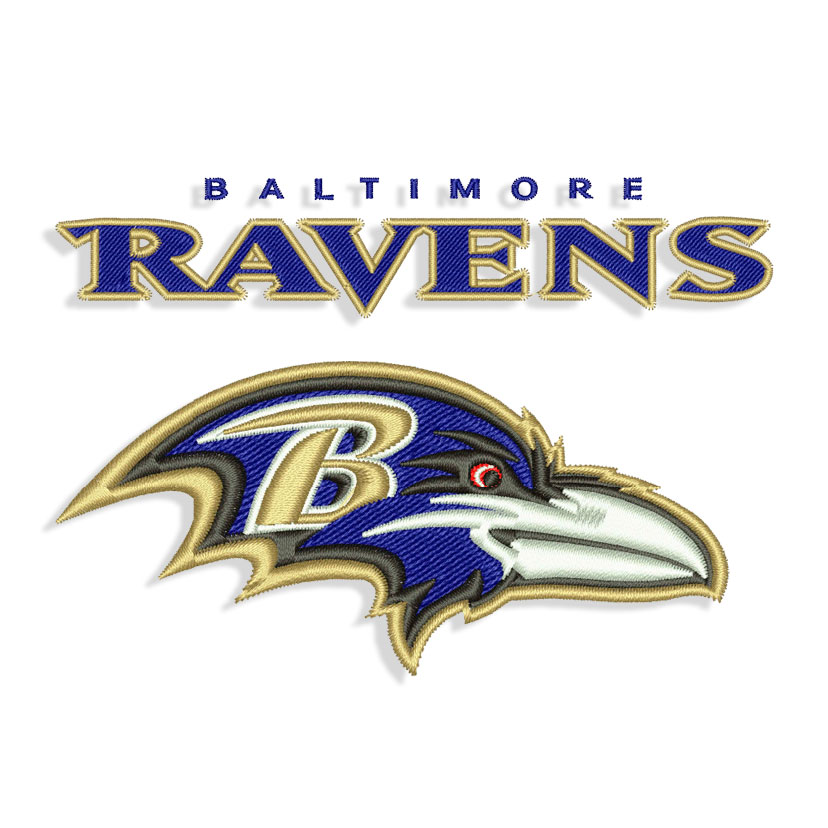 Baltimore Ravens Machine Embroidery Designs And Svg Files