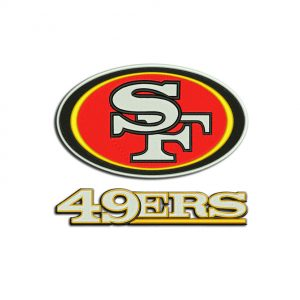 Niners embroidery