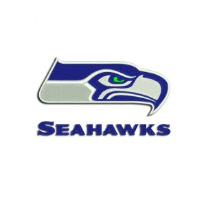Seahawks embroidery