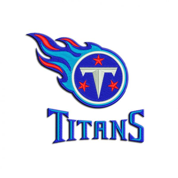 Titans embroidery