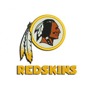 Washington Redskins embroidery