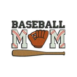 Baseball mom Embroidery design – Machine Embroidery designs