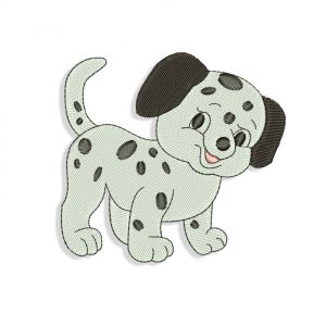 Machine embroidery dog designs files