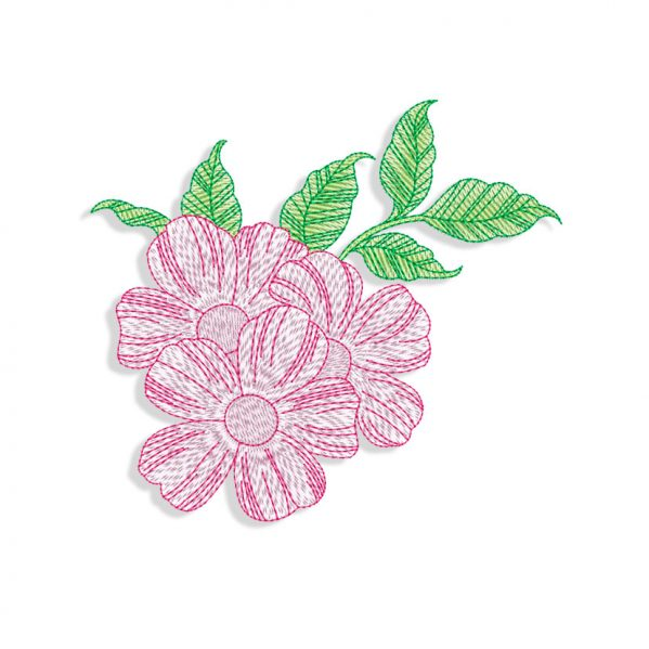 Flowers Machine embroidery designs