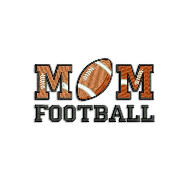 American Football Machine embroidery designs