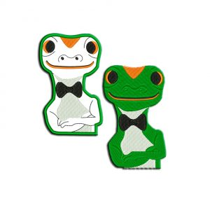 Lizard Applique files