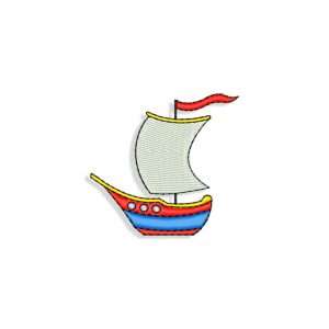 Ships Machine embroidery designs