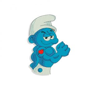 Smurf Embroidery design