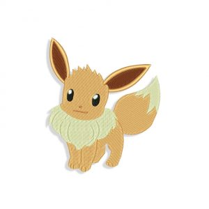 Eevee embroidery