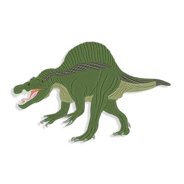 Dinosaur embroidery