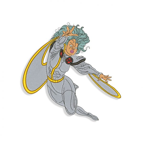 X-Men Storm Embroidery design
