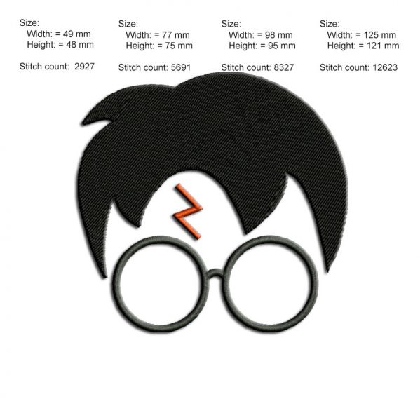 Harry Potter embroidry design