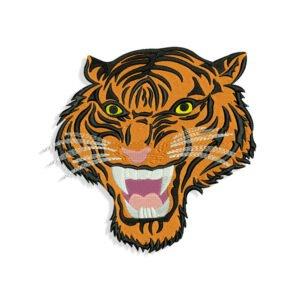 Angry tiger