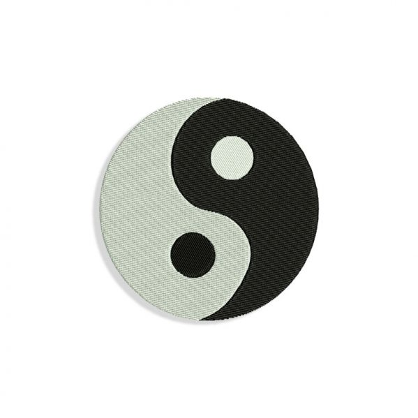 Yin and yang Embroidery