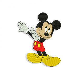 Mickey Mouse Dab
