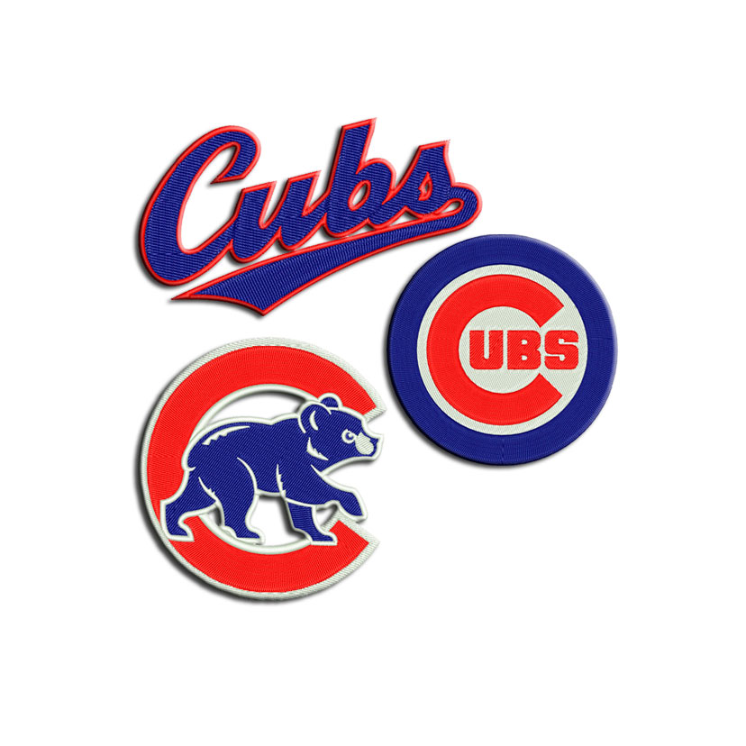 Chicago Cubs Machine Embroidery Designs And Svg Files