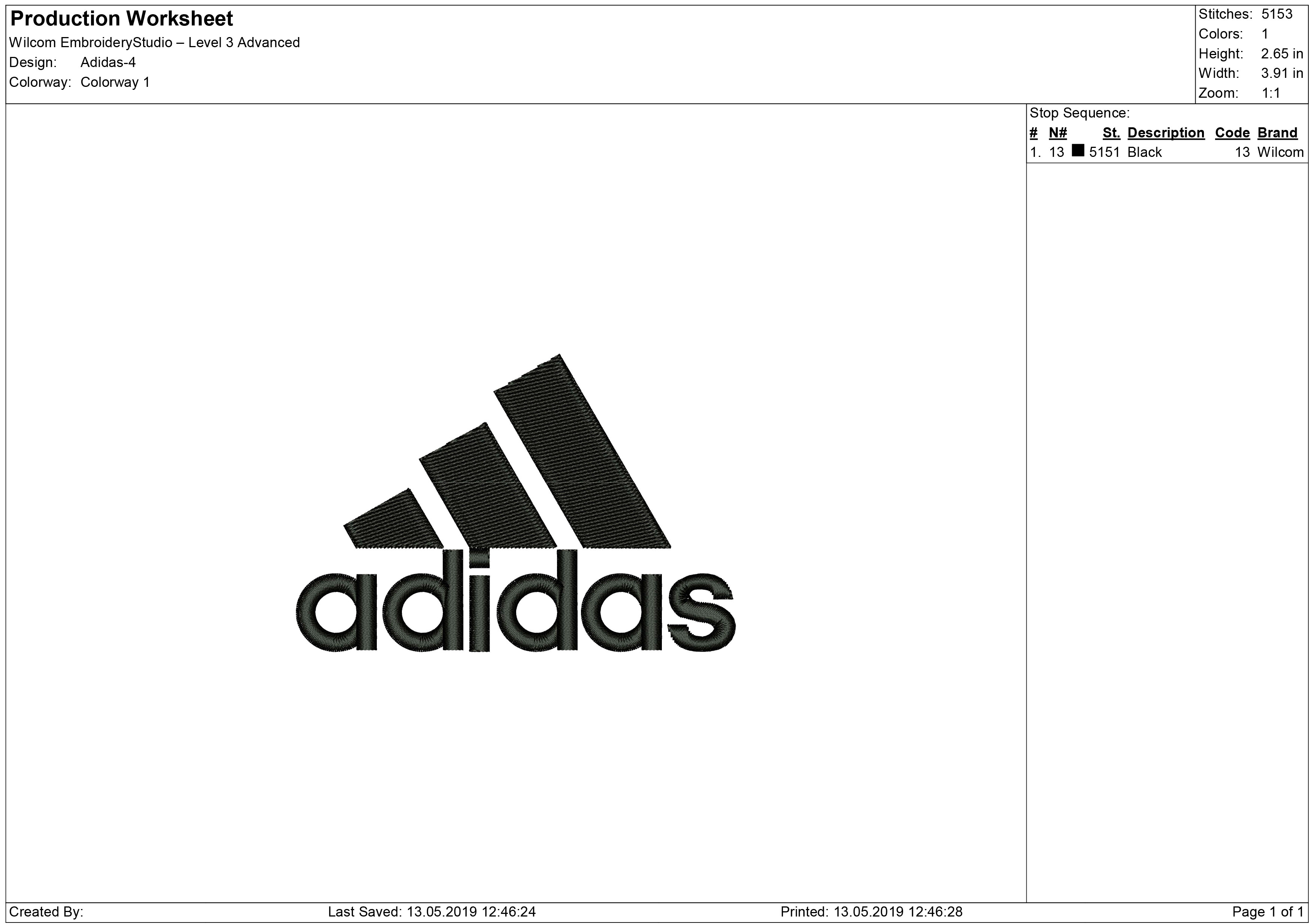 b4f7a40ac0d632 Adidas Embroidery design – Machine Embroidery designs and SVG files