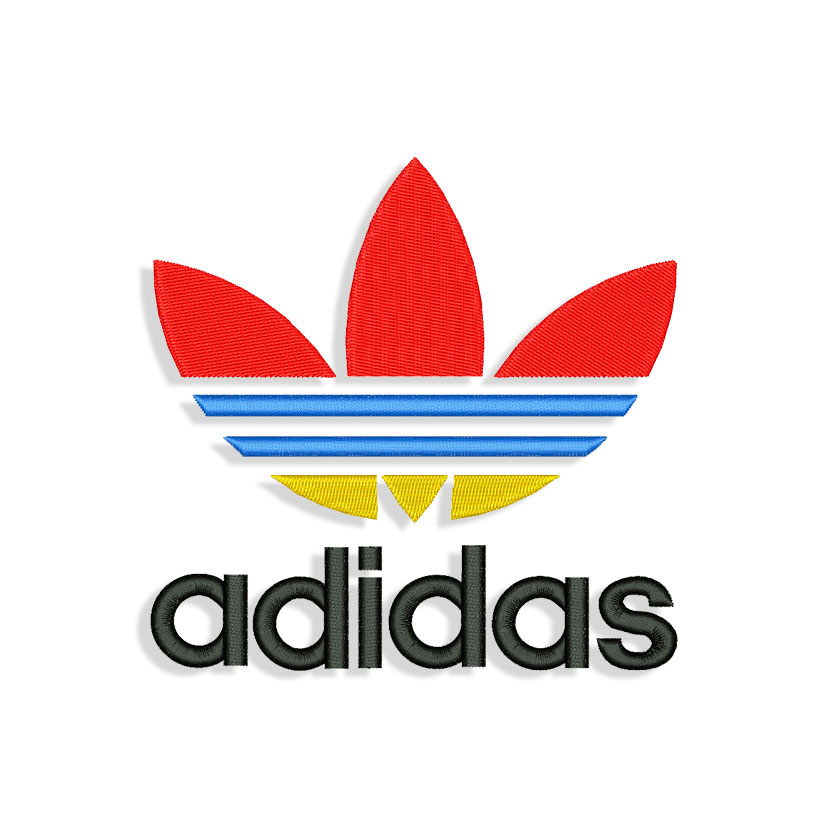 bee375b121c649 Adidas Classic Embroidery design – Machine Embroidery designs and ...