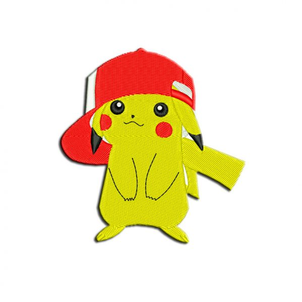 Pokemon embroidery
