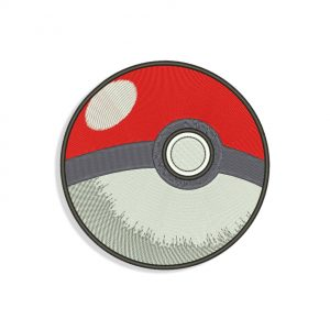 Poke Ball Embroidery