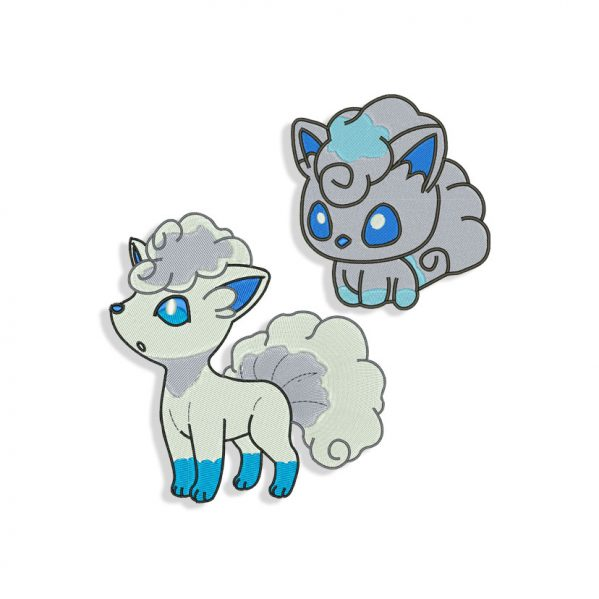Vulpix Embroidery