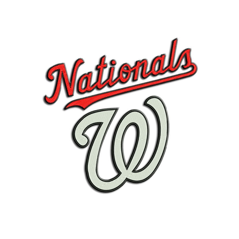 Washington Nationals Machine Embroidery Designs And Svg Files