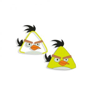 Angry Birds Embroidery design