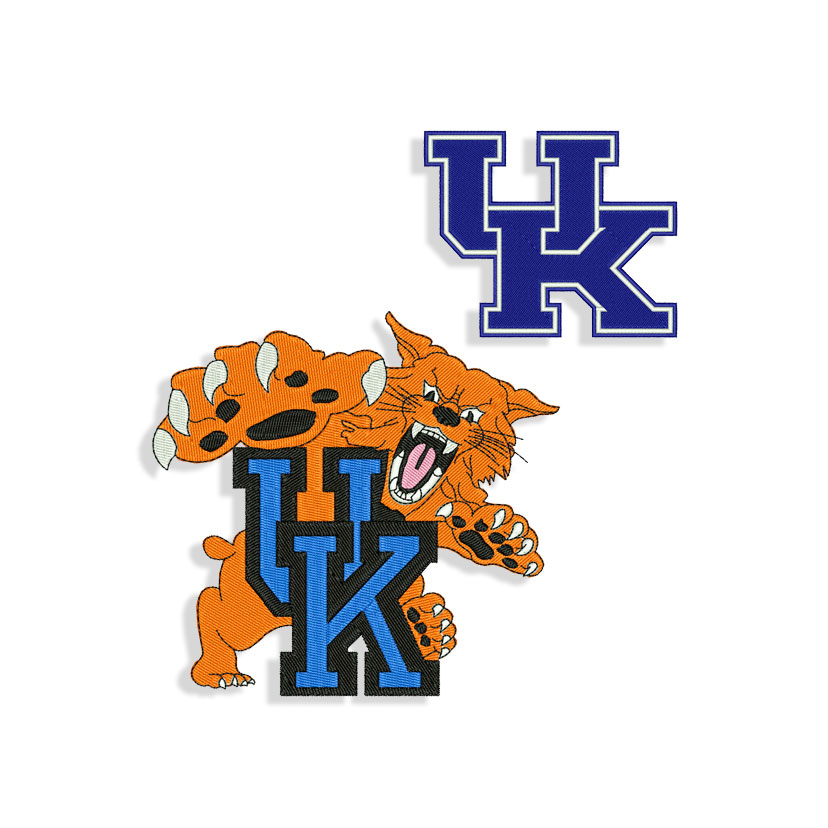Kentucky Wildcats Embroidery design