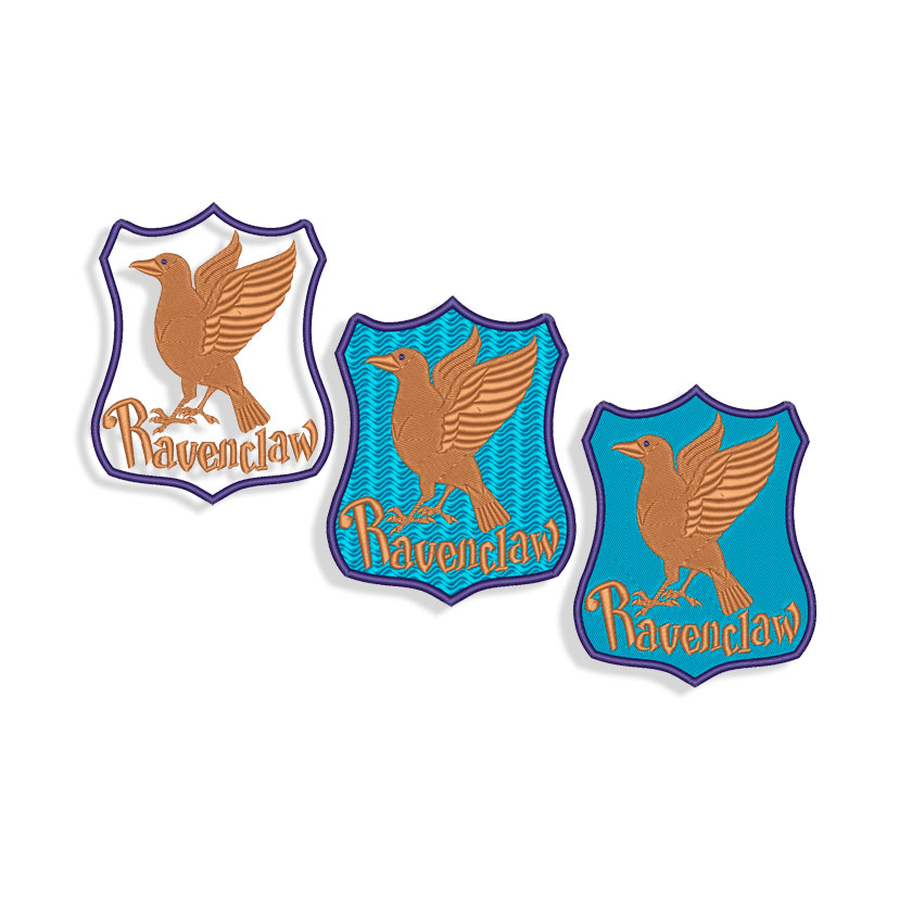 Ravenclaw Embroidery