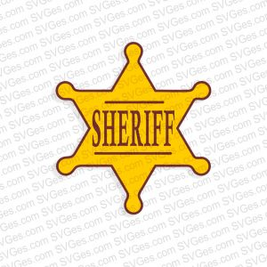 Sheriffs badge png