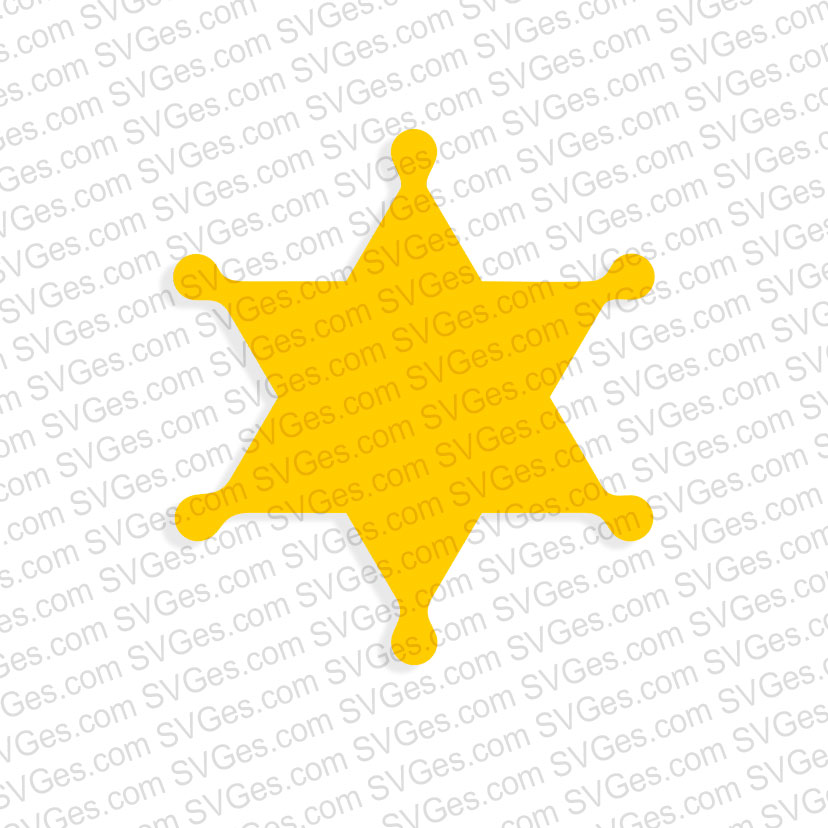 Sheriffs Star png