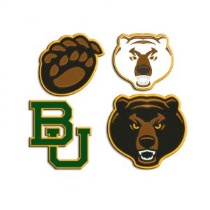 Baylor University Bears Embroidery design