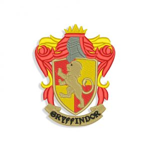 Gryffindor logo Embroidery design