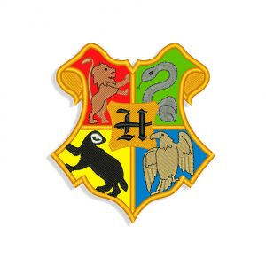 Hogwarts Embroidery design