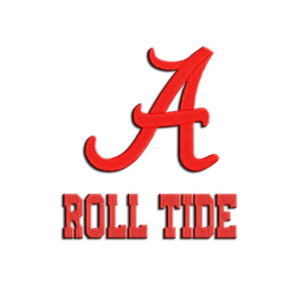 Roll Tide Embroidery design