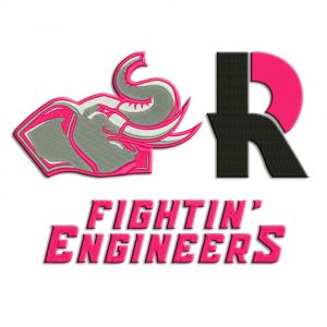 Rose-Hulman Embroidery design