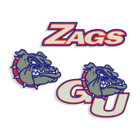 Zags Embroidery design