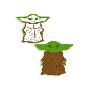 Baby Yoda Embroidery